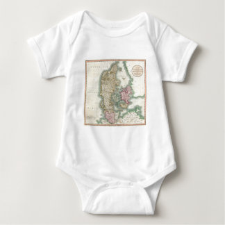Vintage Map of Denmark (1801) Tee Shirts