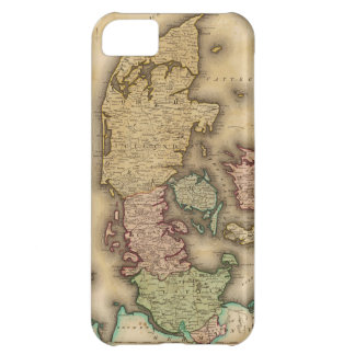 Vintage Map of Denmark (1831) iPhone 5C Covers