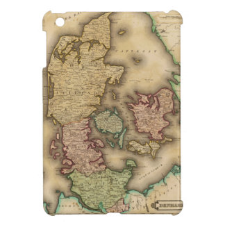 Vintage Map of Denmark 1831 iPad Mini Covers