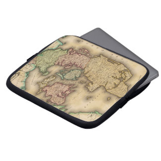 Vintage Map of Denmark (1831) Computer Sleeve