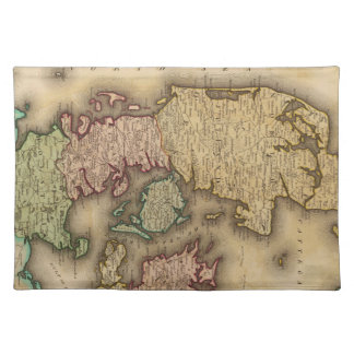 Vintage Map of Denmark (1831) Place Mats