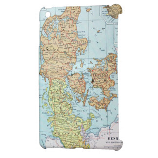 Vintage Map of Denmark (1905) Case For The iPad Mini