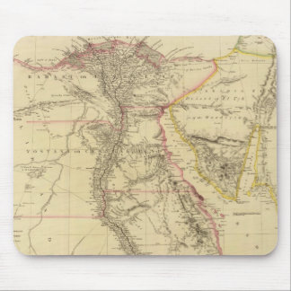 Vintage Map of Egypt (1832) Mouse Pad