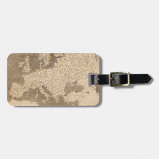 Vintage Map of Europe (1804) Luggage Tag