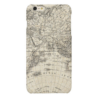 Vintage Map Of Europe and Asia iPhone 6 Plus Case