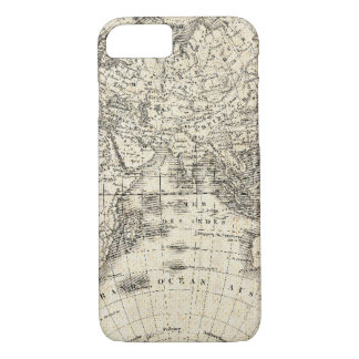 Vintage Map Of Europe and Asia iPhone 8/7 Case