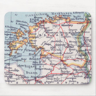 Vintage Map Of Europe Mousepad