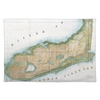 Vintage Map of Florida (1848) Placemat
