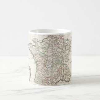Vintage Map of France (1771) Coffee Mug