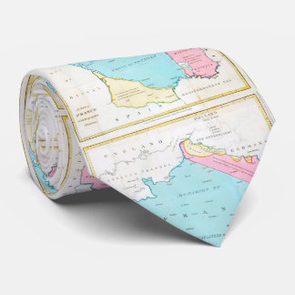 Vintage Map of France (1793) Tie