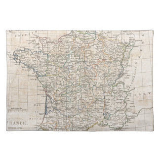 Vintage Map of France (1799) Placemat