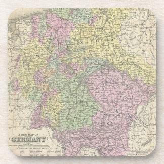 Vintage Map of Germany (1853) Coaster