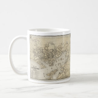 Vintage Map of Gloucester Massachusetts (1873) Coffee Mug