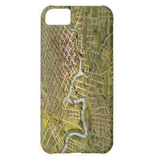 Vintage Map of Houston Texas 1891 Cover For iPhone 5C