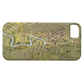 Vintage Map of Houston Texas (1891) iPhone 5 Cover