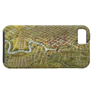 Vintage Map of Houston Texas (1891) iPhone 5 Case