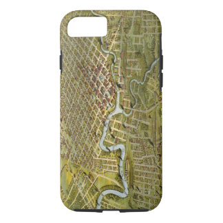 Vintage Map of Houston Texas (1891) iPhone 7 Case