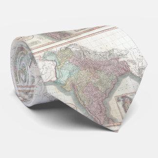 Vintage Map of India (1806) Tie