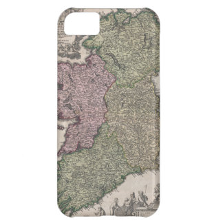 Vintage Map of Ireland (1716) Case For iPhone 5C