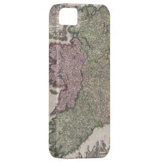 Vintage Map of Ireland (1716) iPhone 5 Cover
