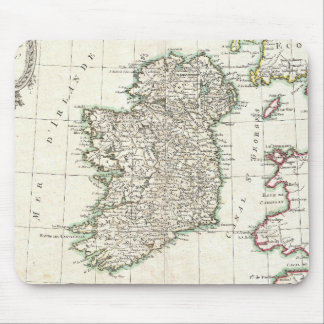 Vintage Map of Ireland (1771) Mouse Mat