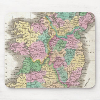 Vintage Map of Ireland (1827) Mouse Pad