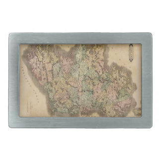 Vintage Map of Ireland (1831) Belt Buckle