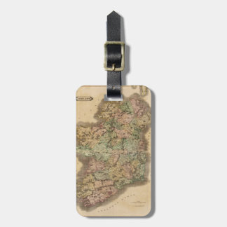 Vintage Map of Ireland (1831) Luggage Tag