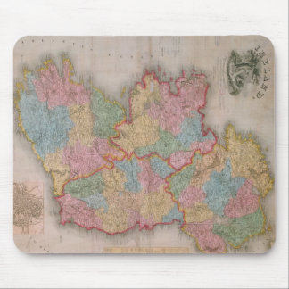 Vintage Map of Ireland (1835) Mouse Mat