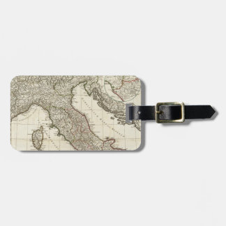 Vintage Map of Italy (1764) Luggage Tag