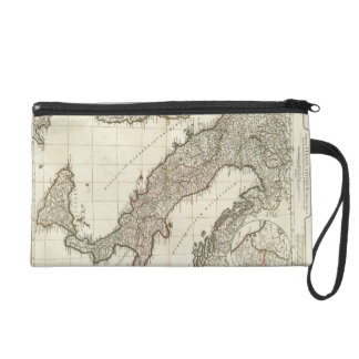 Vintage Map of Italy (1764) Wristlets