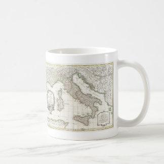 Vintage Map of Italy (1770) Basic White Mug