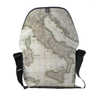 Vintage Map of Italy (1770) Courier Bag