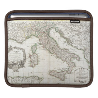 Vintage Map of Italy (1770) iPad Sleeve
