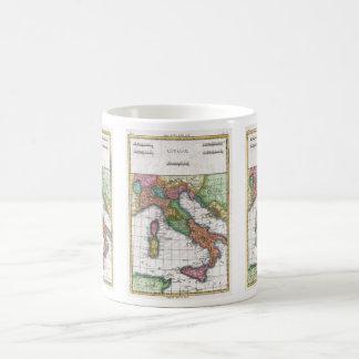 Vintage Map of Italy (1780) Basic White Mug