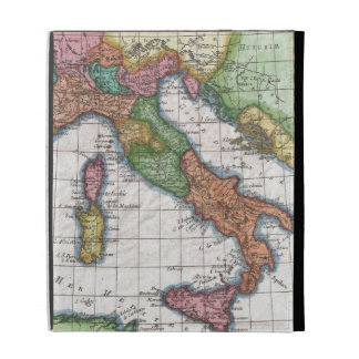 Vintage Map of Italy (1780) iPad Cases