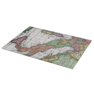 Vintage Map of Italy (1780) Cutting Board