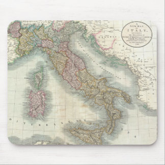 Vintage Map of Italy (1799) Mouse Mat