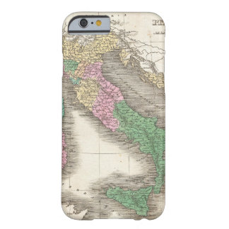 Vintage Map of Italy (1827) Barely There iPhone 6 Case