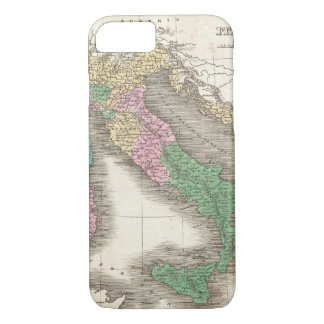 Vintage Map of Italy (1827) iPhone 7 Case