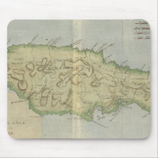 Vintage Map of Jamaica (1780) Mouse Pad