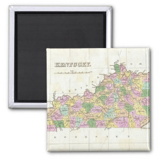Vintage Map of Kentucky (1827) Magnet