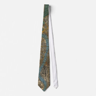 Vintage Map of London England (1860) Tie