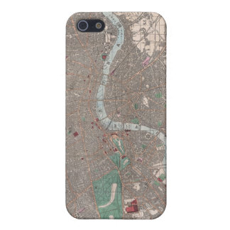 Vintage Map of London England (1862) Cover For iPhone 5/5S