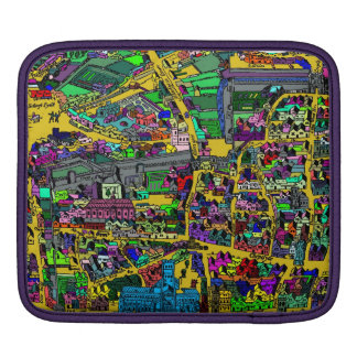 Vintage map of London Sleeves For iPads