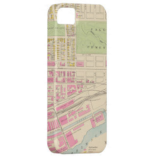 Vintage Map of Manchester NH 1892 2 iPhone 5 Cover