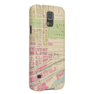 Vintage Map of Manchester NH 1892 2 Samsung Galaxy Nexus Cover