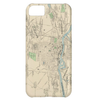 Vintage Map of Manchester NH 1892 iPhone 5C Covers