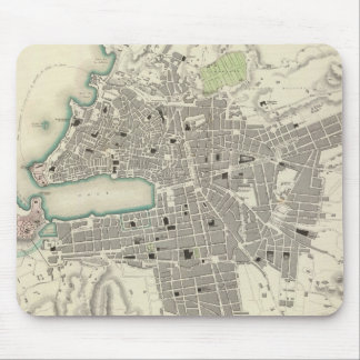Vintage Map of Marseille France 1840 Mousepad