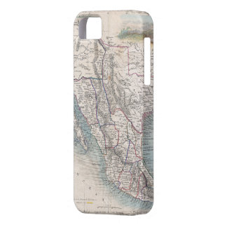 Vintage Map of Mexico (1851) iPhone 5 Cover